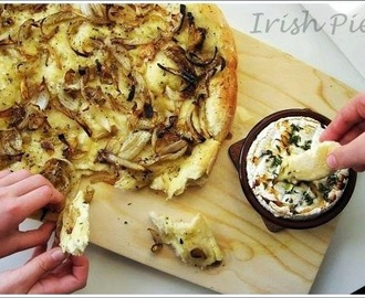 Onion bread with garlic and thyme / Zwiebelbrot mit Knoblauch und Thymian
