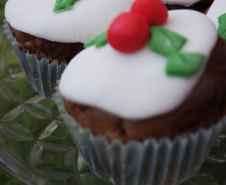 #Recipe – Christmas pudding muffins