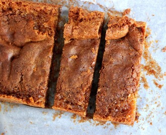 Glutenvrije blondies