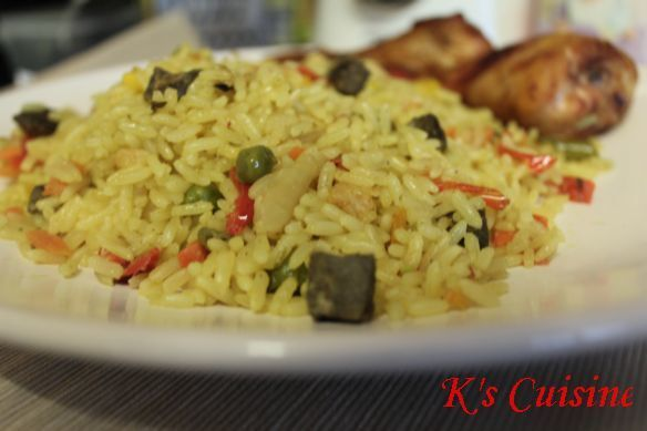Fried rice – Nigerian style