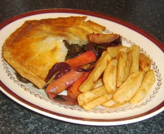 Steak, Kidney and Vegetable Pie