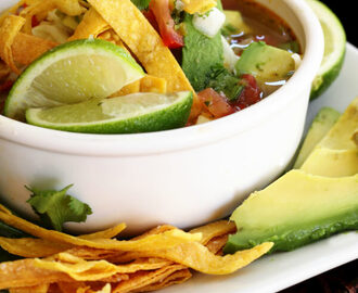 Cafe Rio's Chicken Tortilla Soup