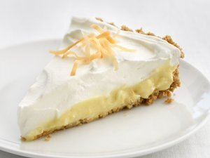 """Healthified"" Coconut Cream Pie"