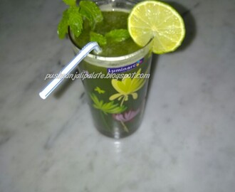 Cucumber Mint Lemonade