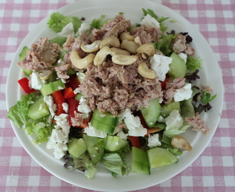 Lunch idee: salade met tonijn