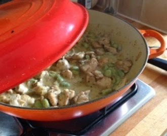 Recipe corner: A summery stew of chicken, broad beans, lemon and mint
