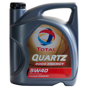 Total QUARTZ 9000 ENERGY 5W-40 5 Liter Burk