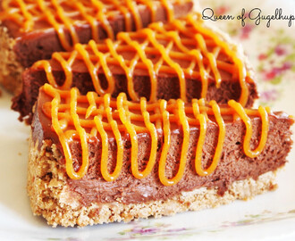 Salted Caramel Chocolate Cake, no bake
