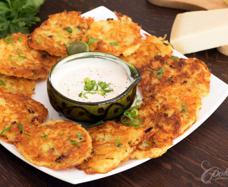 Cheese Potato Pancakes