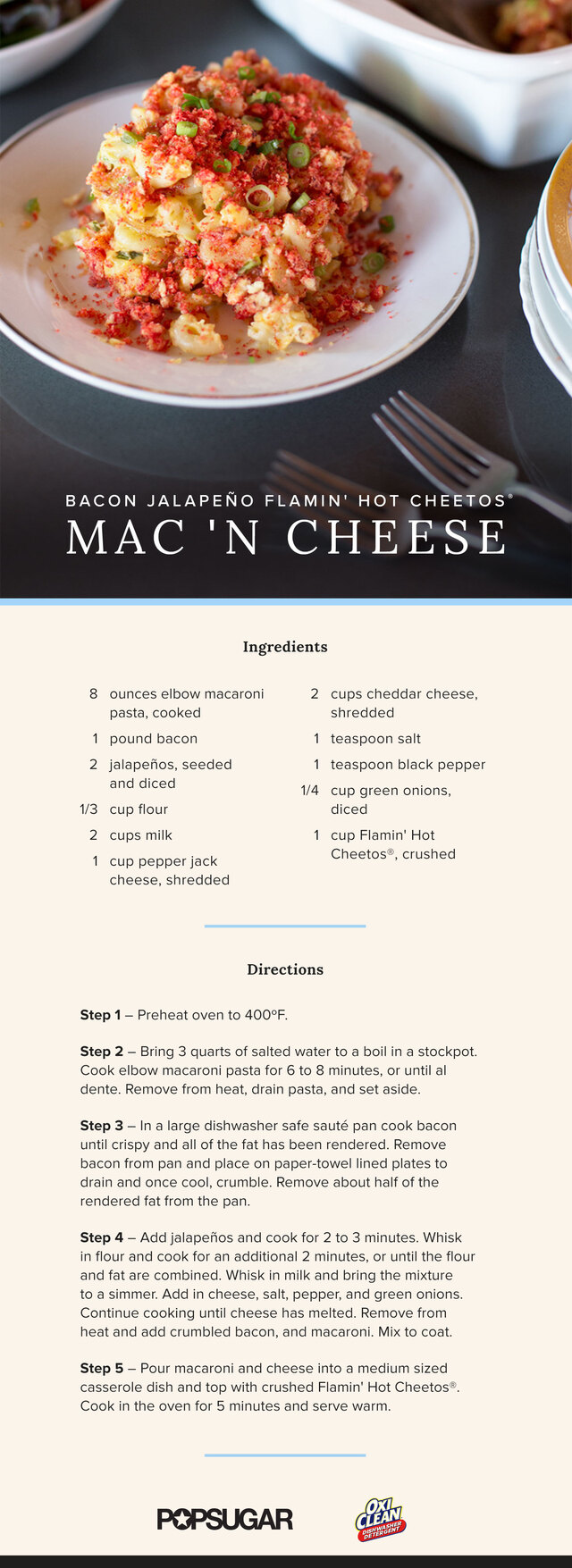 Spicy Mac and Cheese Recipe