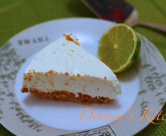 Funmi's Lime Cheesecake (no bake)