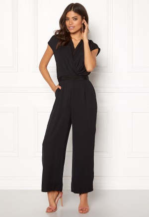 Y.A.S Mamba S/S Jumpsuit Black S