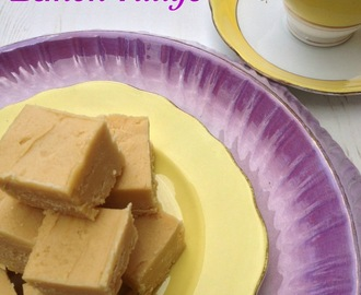 Elderflower and Lemon Fudge