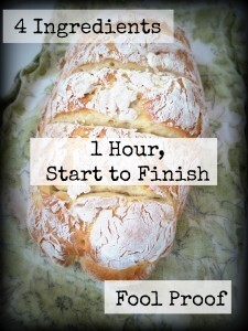 New Year and easy peesy french bread making