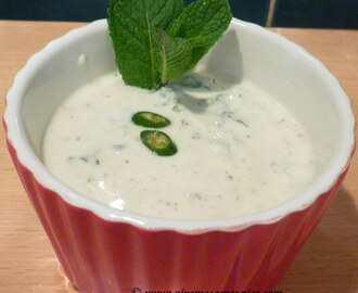 Yogurt and Mint Dip
