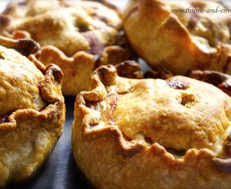 Homemade pork pies