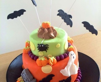 Gâteau surprise Halloween au Nutella - Tutoriel