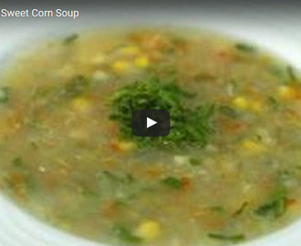 Sweet Corn Soup Recipe Video