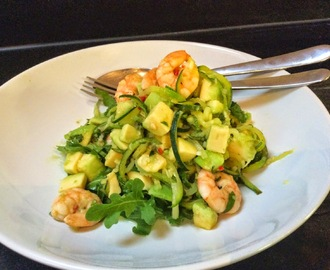 Love Bites Prawn and Avocado Courgetti