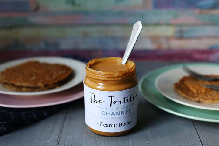 Easy homemade peanut butter