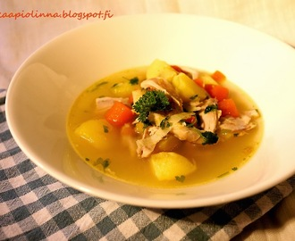 Chicken Soup for the Soul - painontarkkailijan kanakeitto