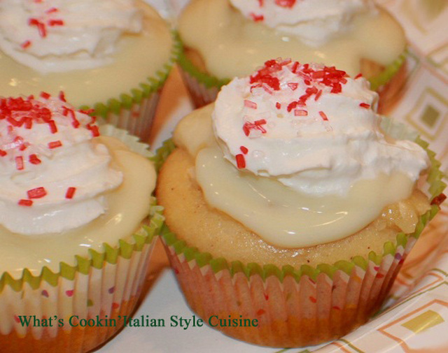 Cake Mix Banana Cream Cupcake Recipe