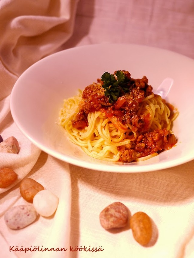 I love it every day - spaghetti bolognese