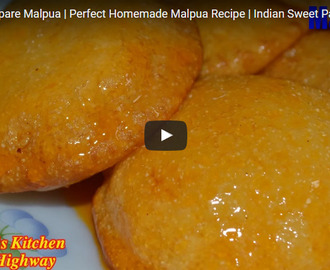 Malpua Recipe Video