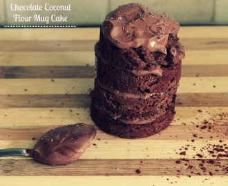 Chocolate Coconut Flour Mug Cake