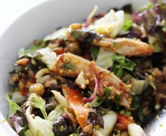 Harissa kip lunch salade copy cat