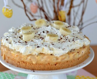 Banoffee Pie (Banana-caramel pie)