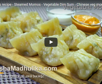 Veg Momos Recipe Video