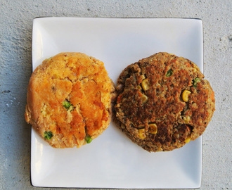 Salmon Quinoa Cakes, two ways