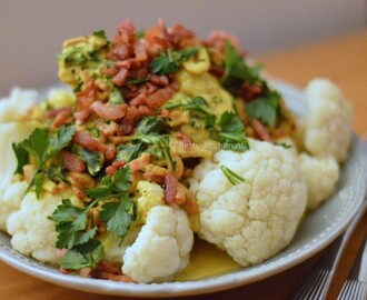 Cauliflower with easy curry sauce