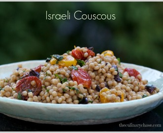 Israeli Couscous with Roasted Tomato Dressing