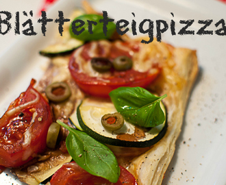 Easy Peasy: Blätterteigpizza