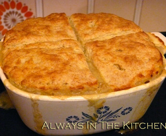 Chicken Pot Pie, Biscuit Top