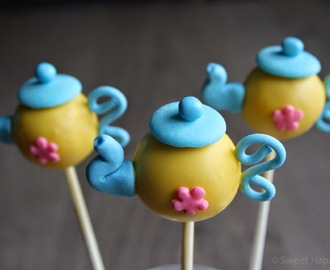 How To | Theepot Cake Pops