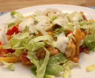 Homemade Patatje Kapsalon