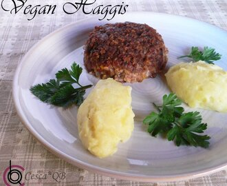 All the way from Scotland…VEGAN HAGGIS!