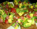 Recept: Frisse avocado bruschetta