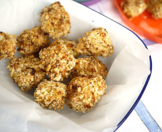 Parmesan Crusted Chicken Bites with Tefal ActiFry