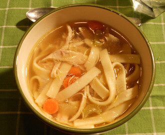 Naomi's Perfect Chicken Noodle Soup