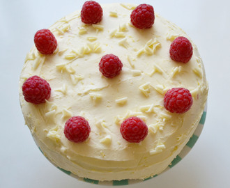 Lemon & Raspberry Sponge Cake