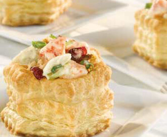 New England Seafood Salad Shells