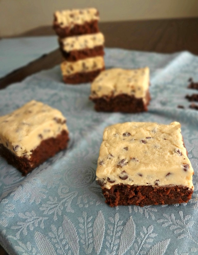 Chocolate Chip Cookie Dough Brownies