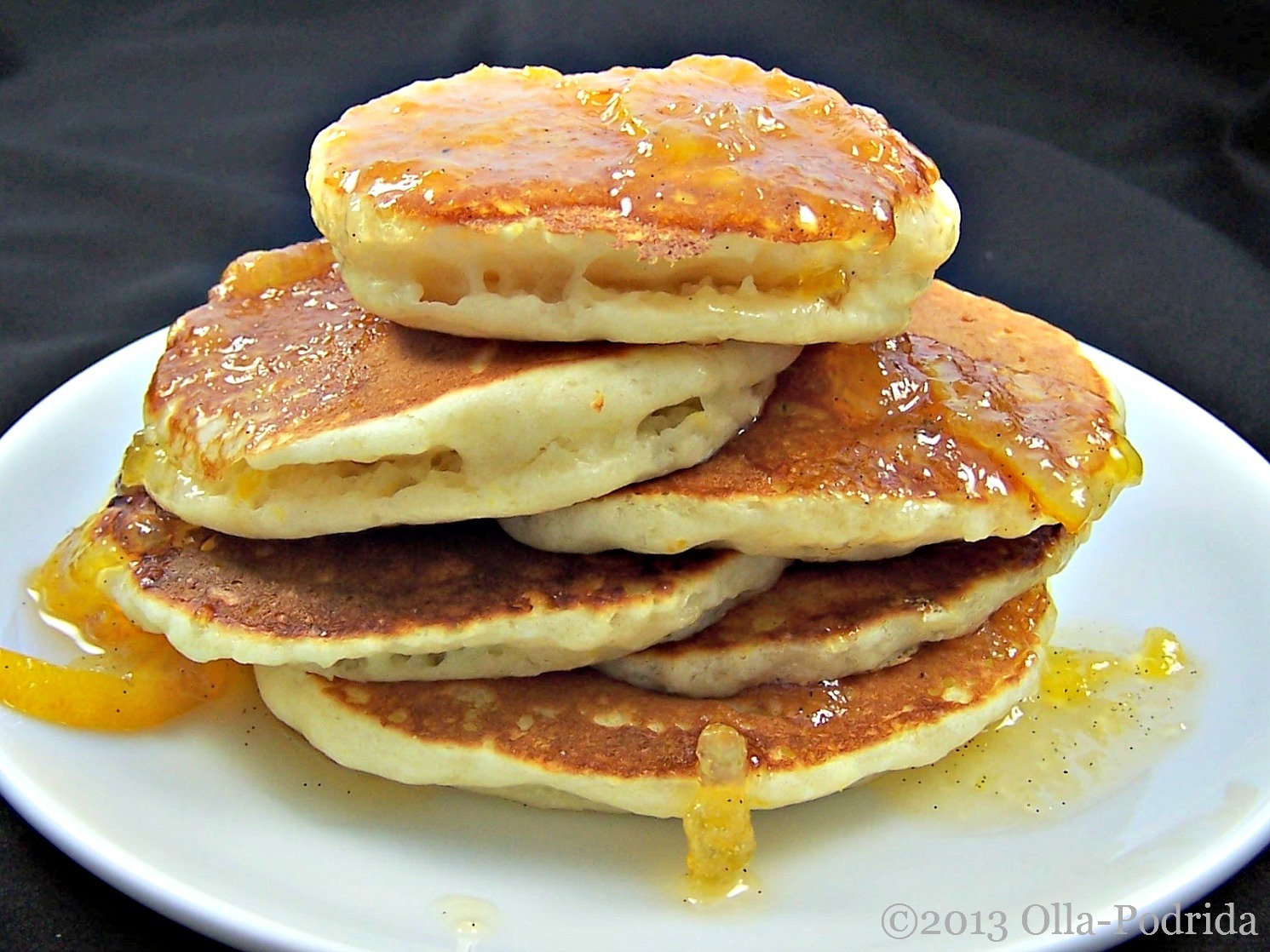 Fluffy Meyer Lemon Yogurt Pancakes