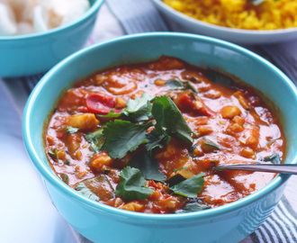 Indiase viscurry met kabeljauw en courgette {sunday supper}
