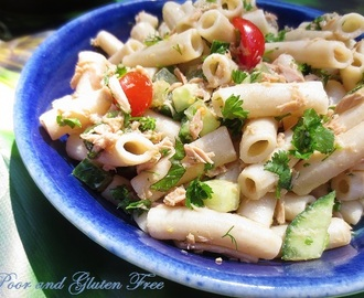 Herbed Tuna Pasta Salad (Cold Meals for Hot Summer Days)