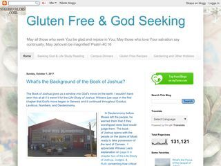 Gluten Free & God Seeking
